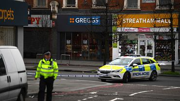Atak nożownika w Londynie. Napastnik został zastrzelony przez policję