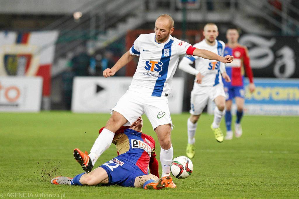 Piast Gliwice - Lech Poznań 2:0. Łukasz Trałka