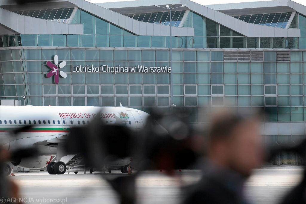 Lotnisko Chopina w Warszawie (zdjęcie ilustracyjne)