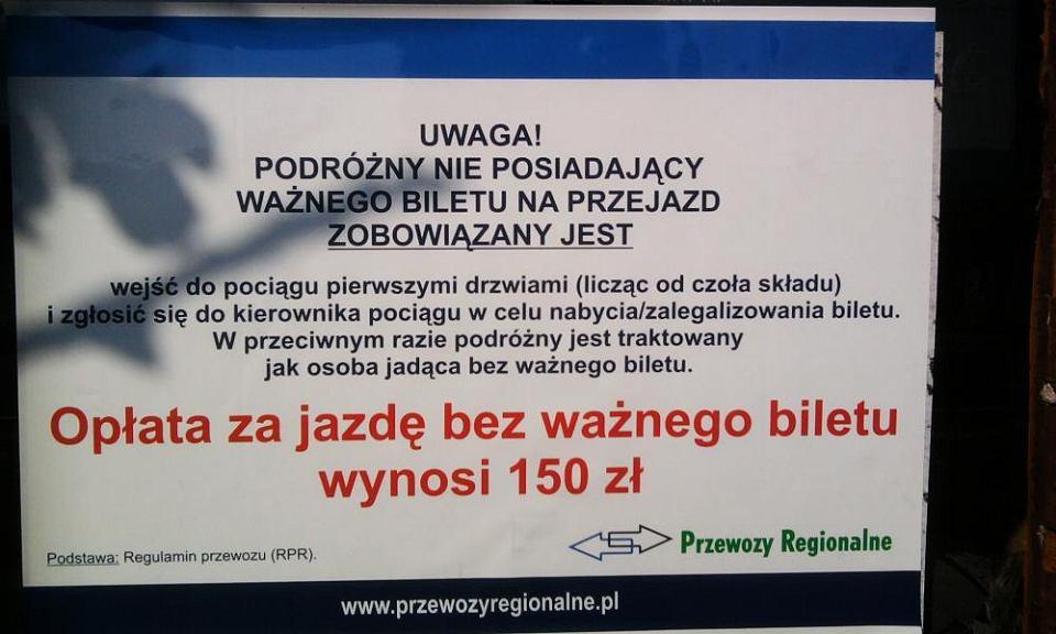 Ogłoszenie Przewozów Regionalnych