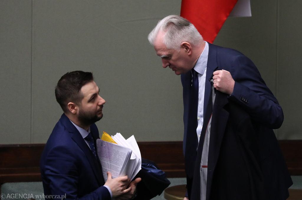 Patryk Jaki i Jarosław Gowin