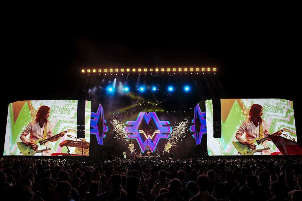 Weezer na festiwalu Coahcella / Julian Bajsel/Courtesy of Coachella