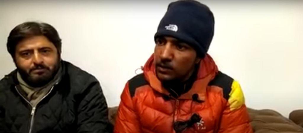 Sajid, syn zaginionego na K2 Alliego Sadpary, wydał oświadczenie dot. poszukiwań ojca