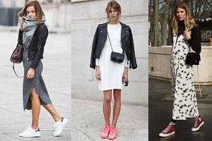 Sportowe buty do sukienki? Ten trend podbije twoje serce
