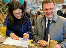 Wybory prezydenckie. Dulkiewicz podpisała listę poparcia dla Hołowni