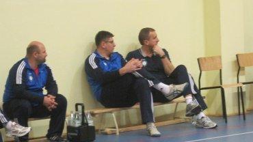 Robert Prygiel (w środku), II trener Cerradu Czarnych Radom