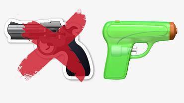 Apple musiał zastąpić ikonkę broni