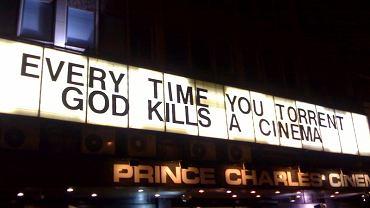 """""""Za każdym razem, gdy ściągasz torrenty, Bóg zabija kino"""""""