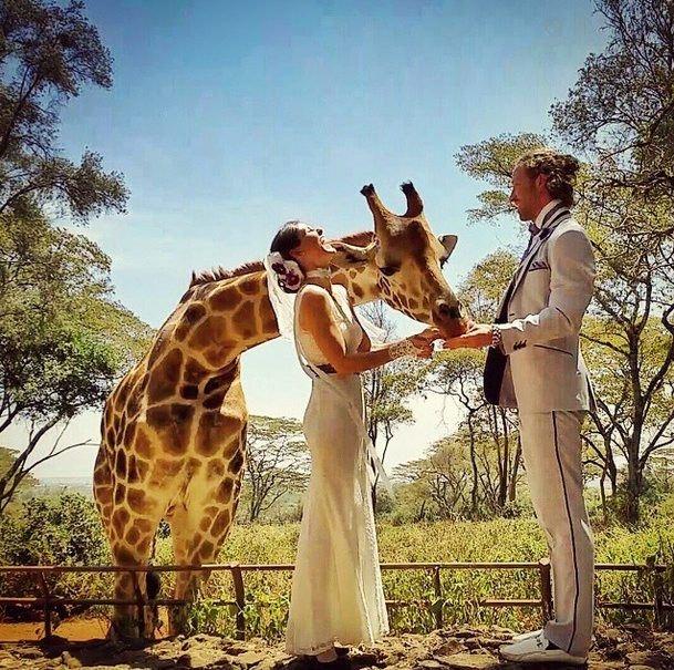 Ślub w Kenii