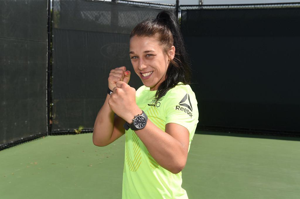 Joanna Jędrzejczyk podczas Miami Open