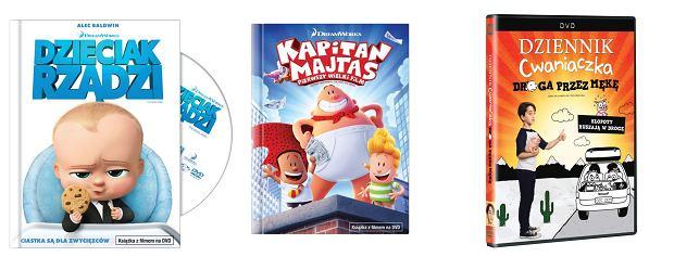 Animacje i film familijny na DVD - premiery