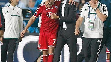 Franck Ribery i Josep Guardiola