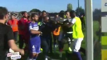 Zamieszki podczas meczu Bastii z Lyonem