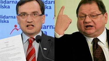 Zbigniew Ziobro i Ryszard Kalisz