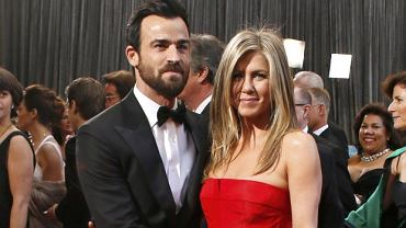 Jennifer Aniston i Justin Theroux, Oskary 2013