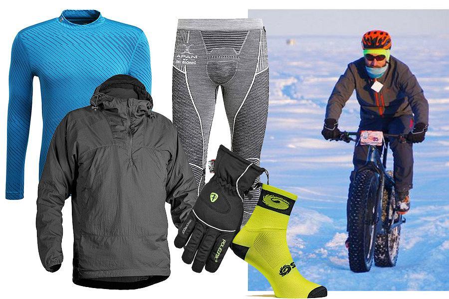 Jak się ubrać na rower zimą?