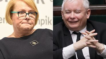 Ilona Łepkowska, Jarosław Kaczyński