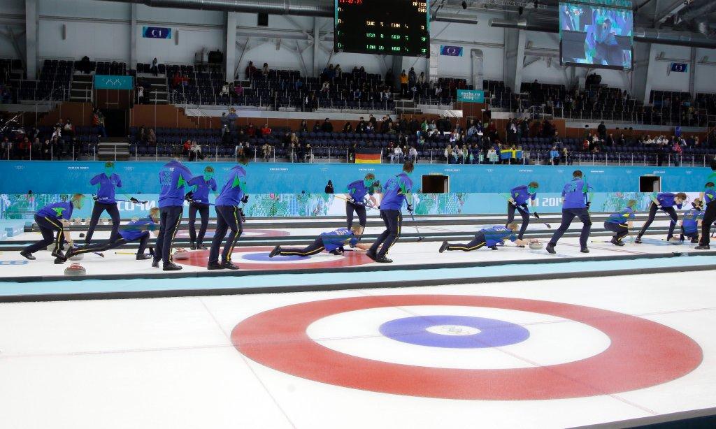 Nieźle zmultiplikowana reprezentacja Szwecji podczas meczu z chińskimi curlerami
