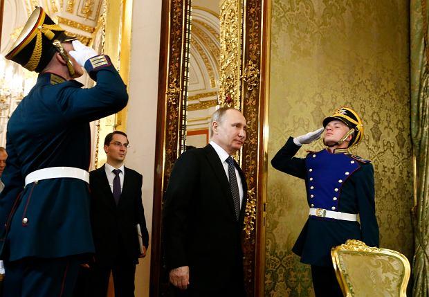 Prezydent Rosji Vladimir Putin