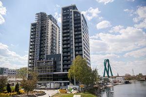 Dwie wieże już gotowe. Właściciele mieszkań w najwyższym budynku w Bydgoszczy wkrótce dostaną klucze