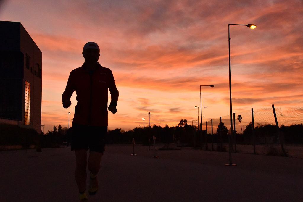 Paweł Żuk przebiegł 5000 km.