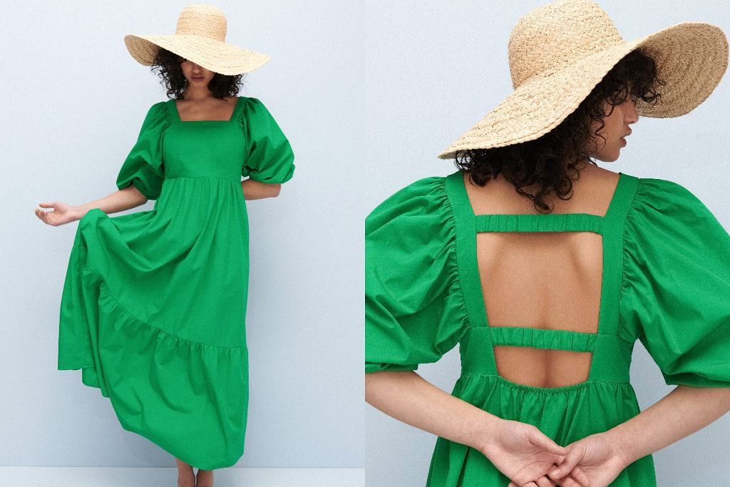 sukienka wiosna lato 2021