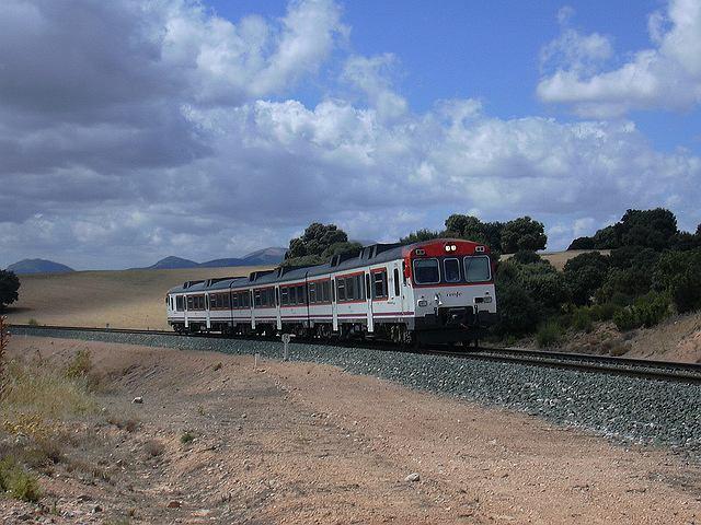 Pociąg linii Renfree