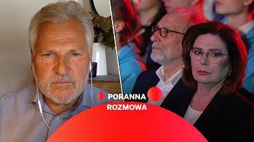 Aleksander Kwaśniewski w Porannej Rozmowie Gazeta.pl