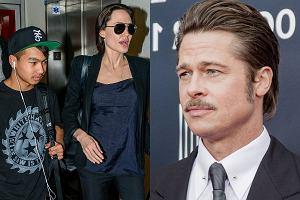 Angelina Jolie, Maddox, Brad Pitt
