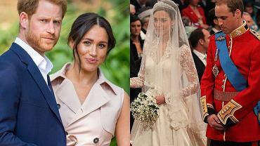 Meghan Markle, książę Harry, książę William, księżna Kate