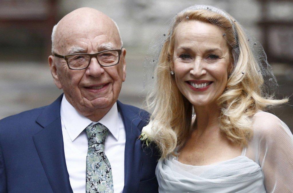 Rupert Murdoch i Jerry Hall