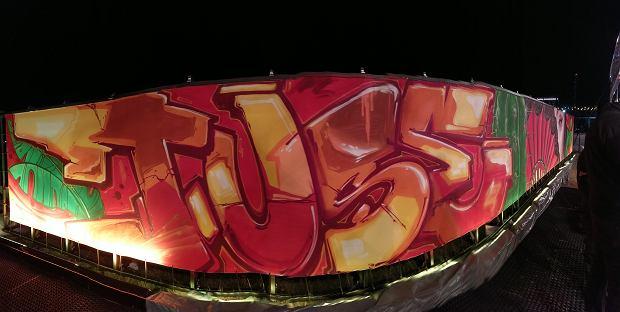 Graffiti autorstwa Tuse na festiwalu Open'er