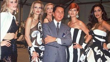 Valentino  Garavani z modelkami