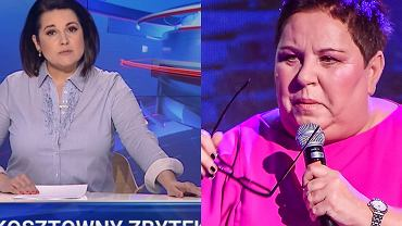 'Wiadomości' TVP ; Dorota Wellman