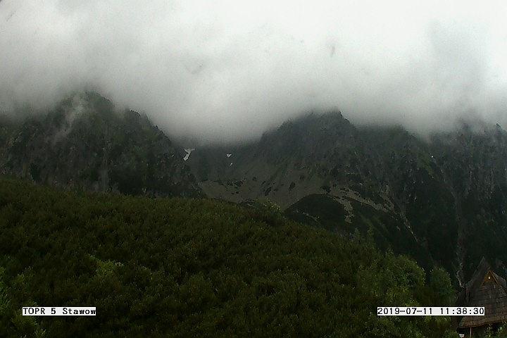 W Tatrach warunki do wędrówek są trudne