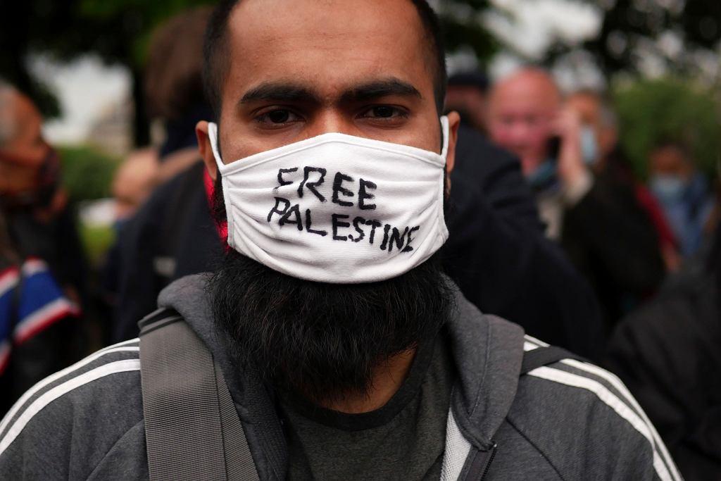 Francja. Propalestyński protest