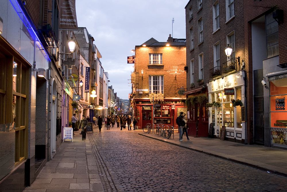 Irlandia Dublin - Temple Bar