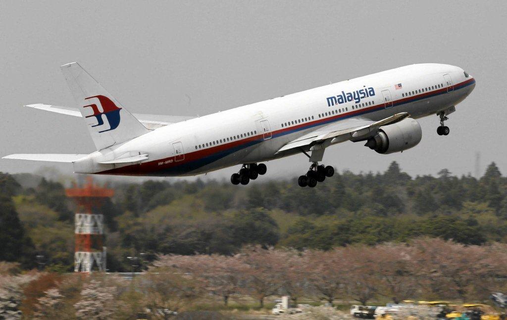 Boeing 777 malezyjskich linii lotniczych.