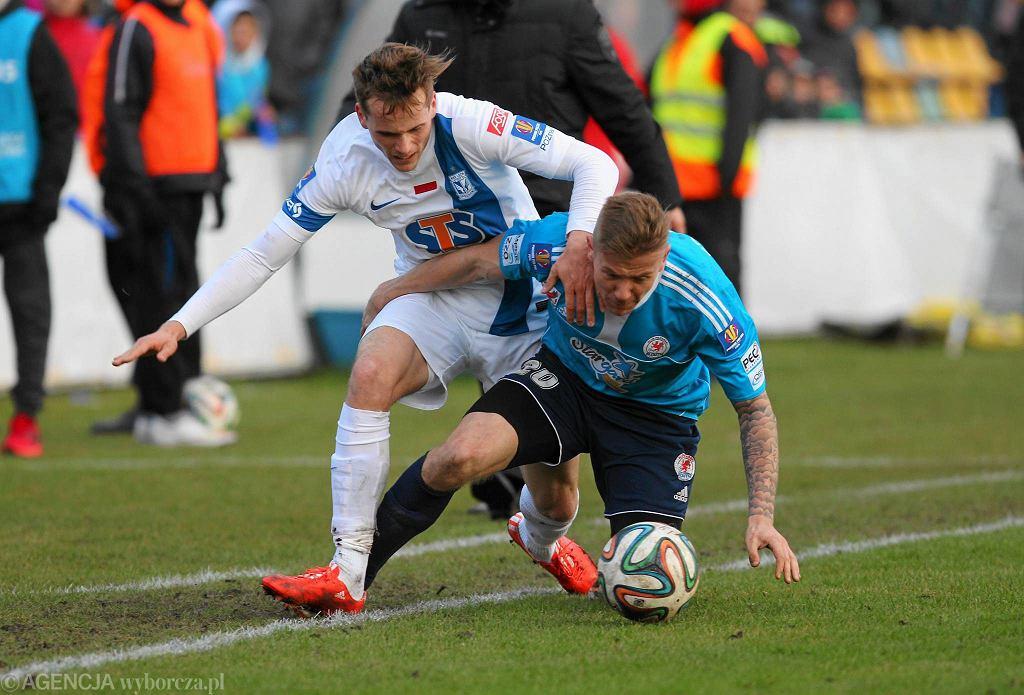 Błękitni Stargard Szczeciński - Lech Poznań 3:1 w Pucharze Polski