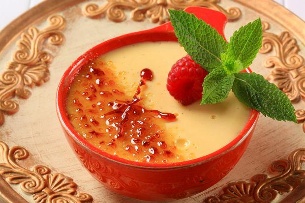 Kuchnia hiszpańska - crema catalana/fot. shutterstock