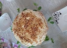 Orzechowy tort bezowy z kremem cytrynowym - ugotuj