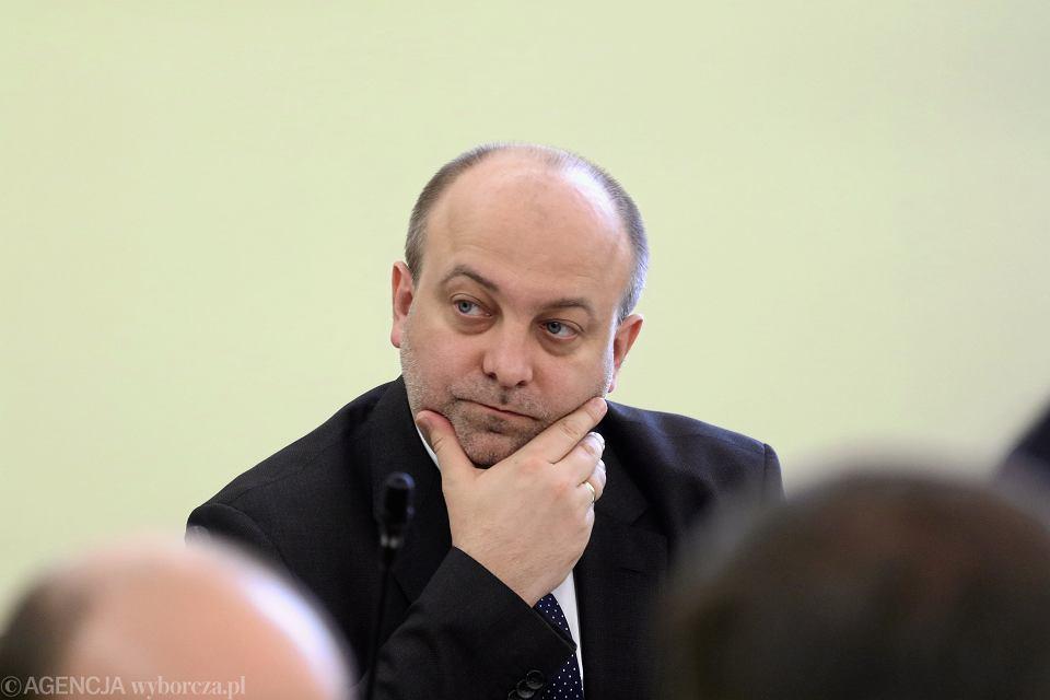 Podsekretarz stanu w Ministerstwie Sprawiedliwości Łukasz Piebiak