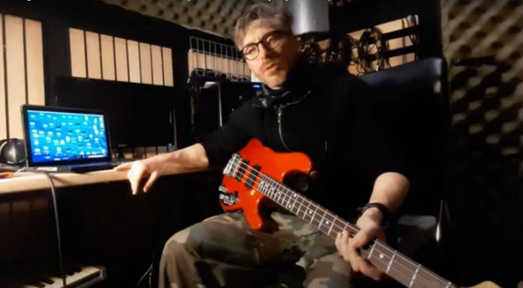 Komponowanie i wymyślanie partii basu w studio z Pendoxem /