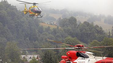 Akcja ratunkowa w Tatrach