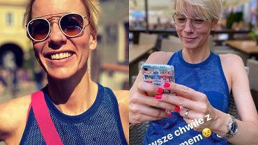 Anita Werner zadebiutowała na Instagramie