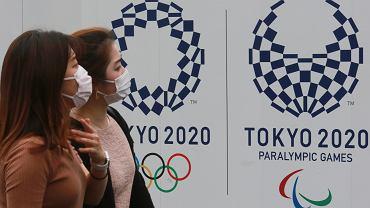 Plakaty promujące Igrzyska Olimpijskie w Tokio