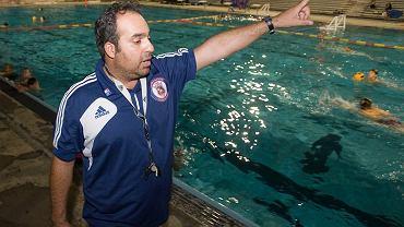 Bahram Hojreh, trener piłki wodnej w Stanach Zjednoczonych