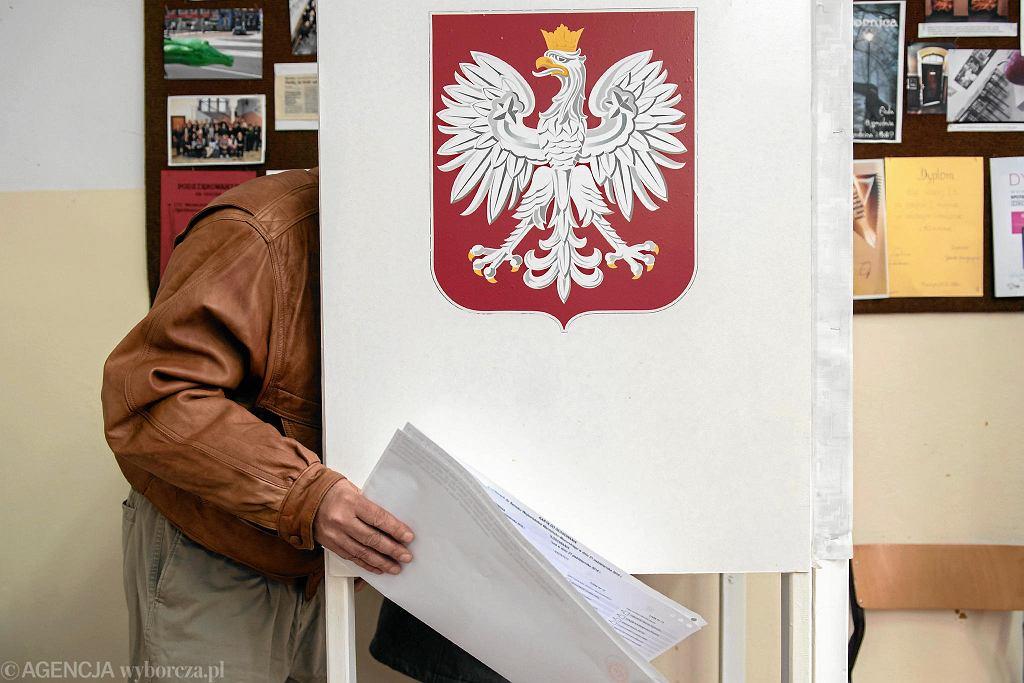 Wybory, głosowanie w Olsztynie
