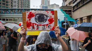 Protesty w Hongkongu. Władza wykorzystuje technologie by rozpoznawać demonstrantów.