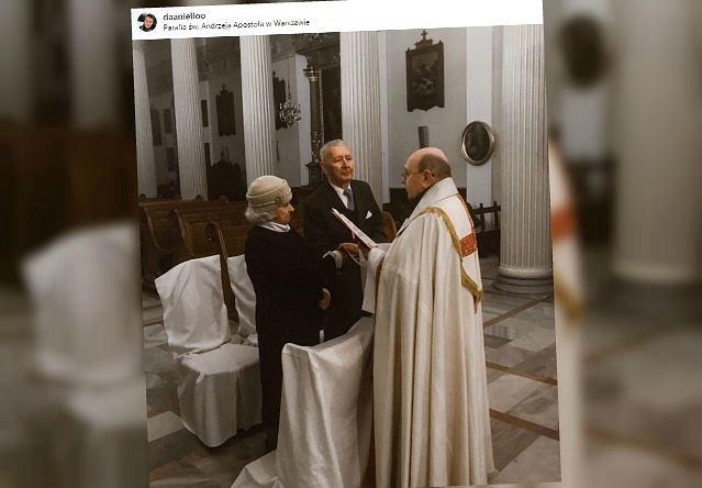 Ślub pary 90-latków